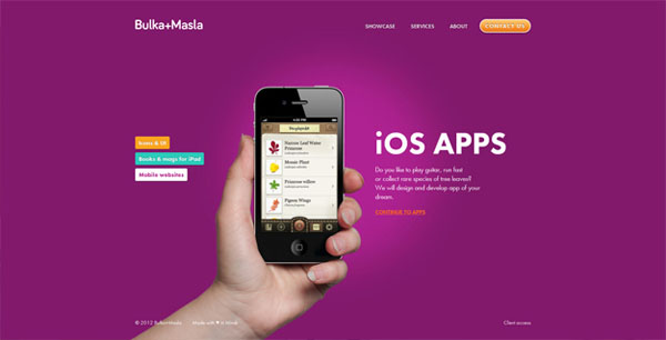 bulka masla Web Design Inspiration #11