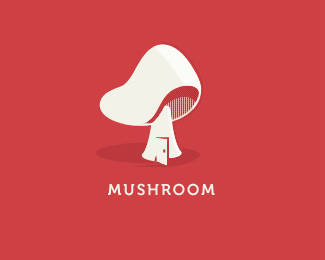 cool designs of mushroom logo inspiration 22 25 Cool Designs of Mushroom Logo