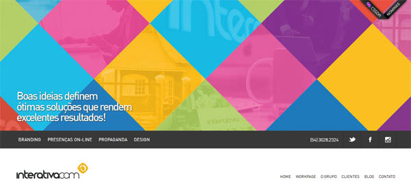 interativacom Web Design Inspiration #8
