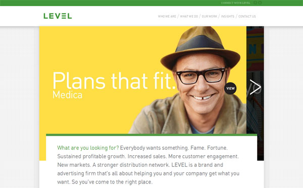 level Web Design Inspiration #11