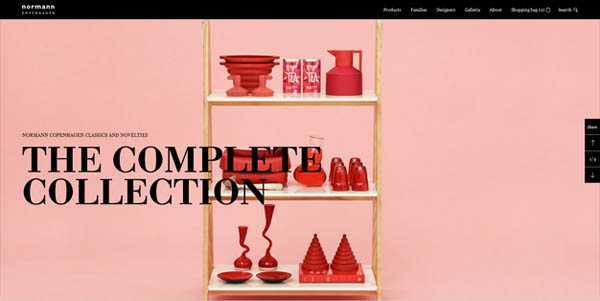 normann copenhagen Web Design Inspiration #8