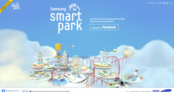 samsung smart park Web Design Inspiration #10