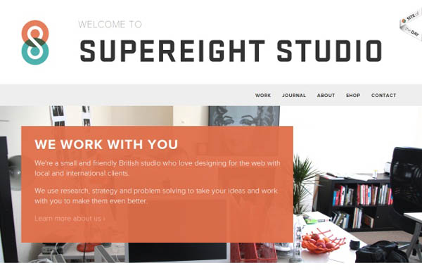 supereight Web Design Inspiration #8