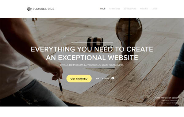 Squarespace Web Design Inspiration #15
