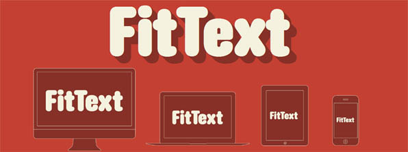 fitext front FitText Flexible Font Sizes for Responsive Web with jQuery