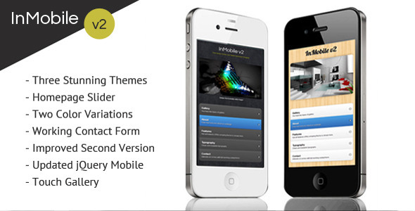 mobile website templates 37 50 Best Mobile Website Templates