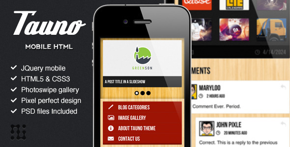 mobile website templates 48 50 Best Mobile Website Templates