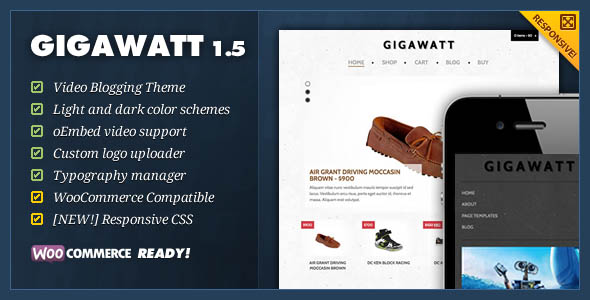 responsive ecommerce wordpress themes 21 27 Responsive Ecommerce Wordpress Themes