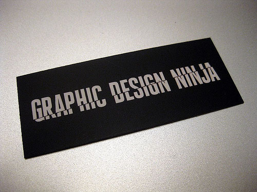 typographic business cards 29 30 Typographic Business Cards Design Inspiration