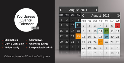 wordpress calendar plugins 09 15 Top WordPress Calendar Plugins