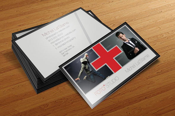 photography business card templates 02 15 Best Photography Business Card Templates