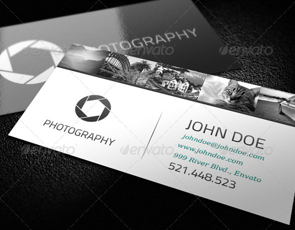 photography business card templates 10 15 Best Photography Business Card Templates