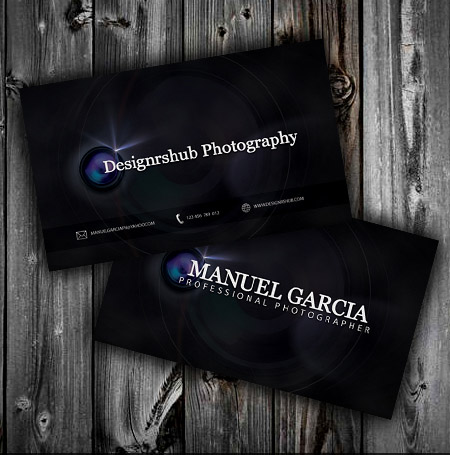 photography business card 15 Best Photography Business Card Templates