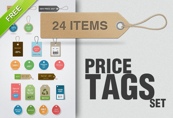 price sale tag psd 01 20 Free Price / Sale Tag PSD Templates for Ecommerce Website