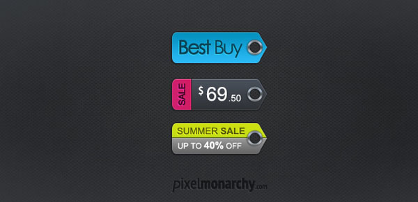 price sale tag psd 06 20 Free Price / Sale Tag PSD Templates for Ecommerce Website