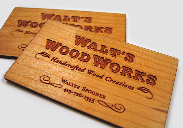 wood card 05 40 Creative Wooden Business Cards Inspiration
