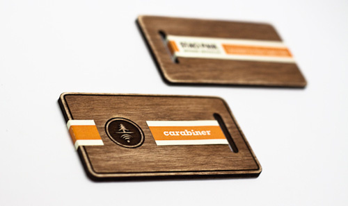 wood card 07 40 Creative Wooden Business Cards Inspiration