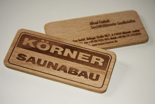 wood card 12 40 Creative Wooden Business Cards Inspiration