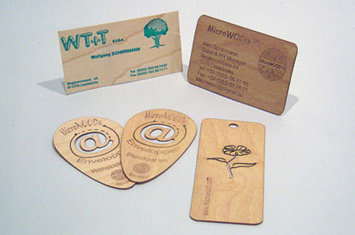 wood card 36 40 Creative Wooden Business Cards Inspiration
