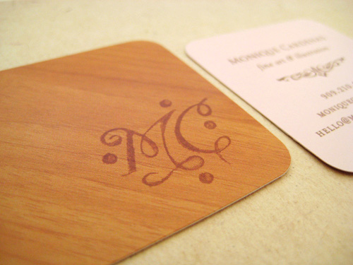 wood card 40 40 Creative Wooden Business Cards Inspiration