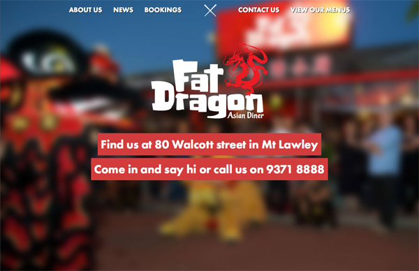 Fat Dragon Web Design Inspiration #18