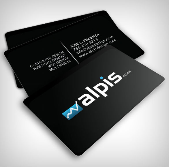 black business cards 26 40 Inspirational Black Business Cards