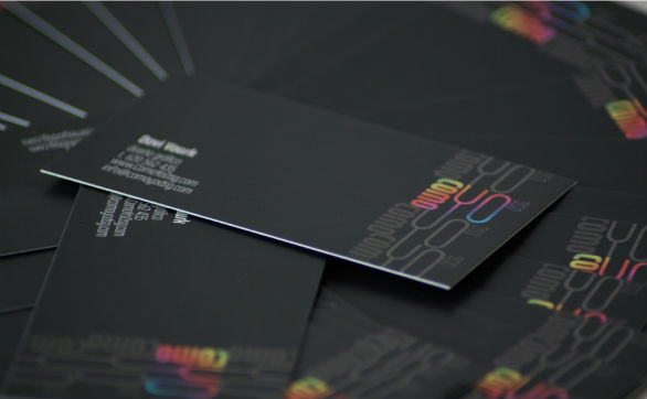 black business cards 30 40 Inspirational Black Business Cards