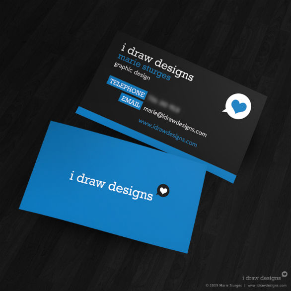 black business cards 32 40 Inspirational Black Business Cards