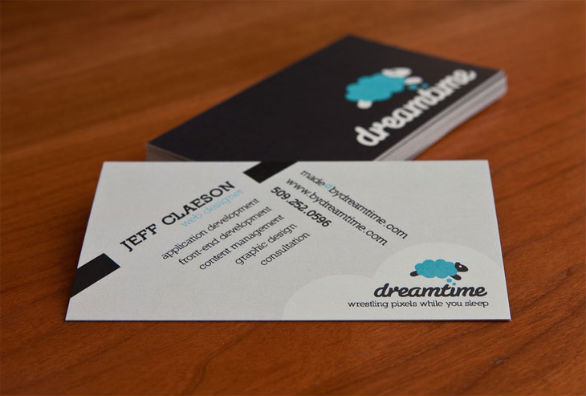 black business cards 40 40 Inspirational Black Business Cards