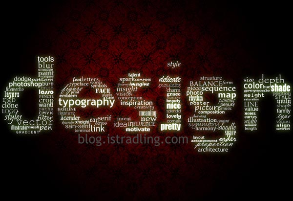 Typography wallpaper 01 30 Inspiring Typography Wallpapers
