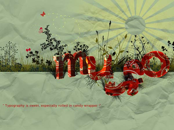 Typography wallpaper 07 30 Inspiring Typography Wallpapers