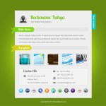 8 Free vCard Website Templates for Online Resume