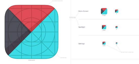 10 Free iOS7 Icon Template for Your Application Icons - Smashfreakz - iphone app icon template