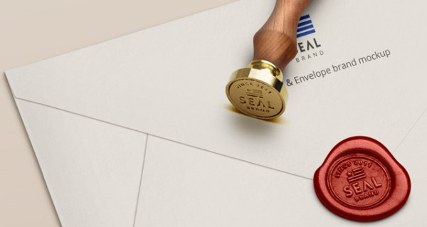 10 Wax Seal Stamp Psd Mockup For Your Branding Project