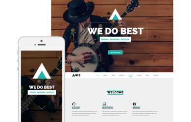 Awe-wordpress-theme