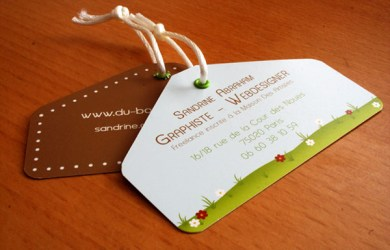 Sandrine Abraham Business Card