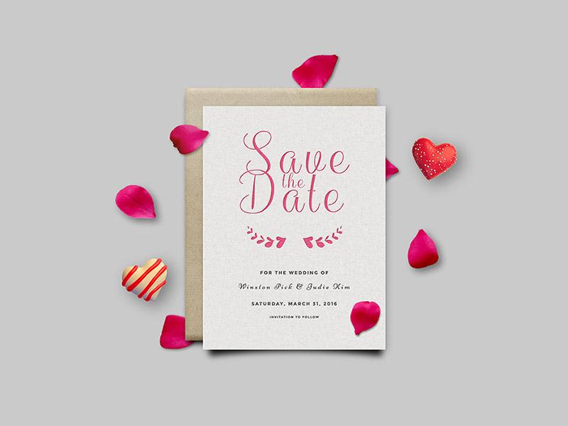 10 Free Save The Date Template for Wedding Invitation - Smashfreakz
