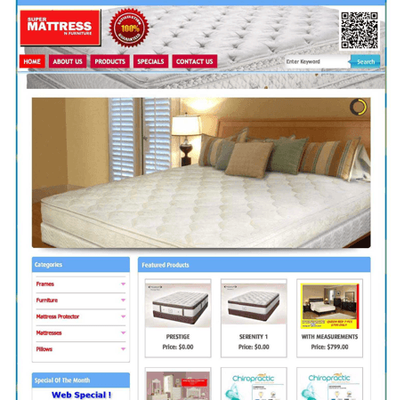 Mattress (Custom PHP)