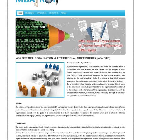 Simple PHP Website