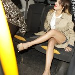 Caroline Flack's killer legs due to full body make-up ?!