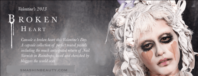 Illamasqua Broken Heart Makeup Collection 2013