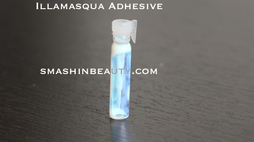 Illamasqua adhesive makeup review