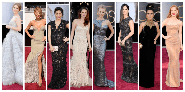Oscars 2013 Red Carpet Best Dresses