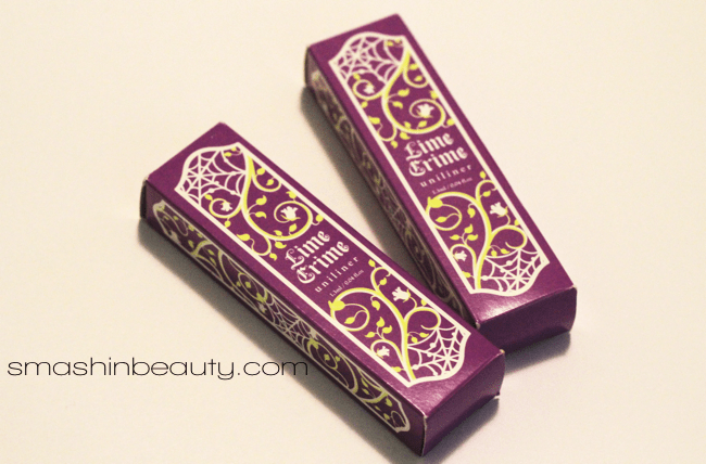 Lime Crime Makeup Eyeliners Makeup Review Swatches Blue Milk