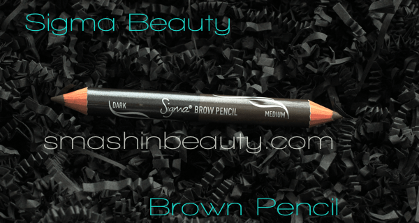 Sigma Beauty Brow Pencil Dark Medium Swatches REview