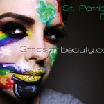 St Patrick&#8217;s Day Makeup (Face Paint)