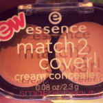 Makeup Review: Essence Match 2 Cover Cream Concealer Swatches