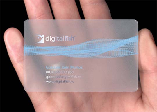 25 Creative Transparent Business cards