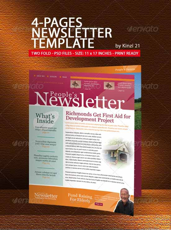 35 Effective and Creative Email Newsletter Designs