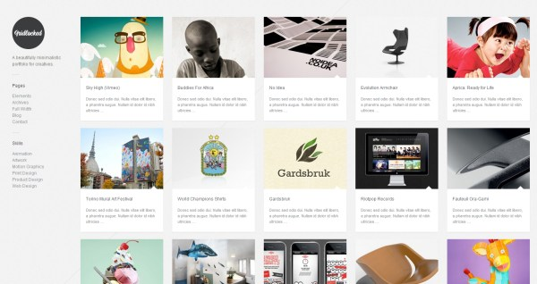 16 best minimal wordpress themes with responsive design reviewed - portfolio themes tumblr
